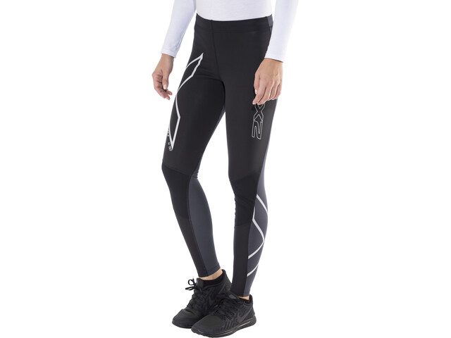 2XU G2 Wind Defence Thermal Compression Tights Women Black/Steel